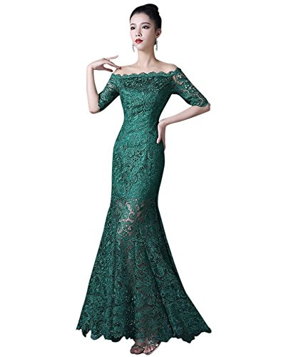 Schlauch Kleid Drasawee Drasawee Grün Damen Damen wqSZBp