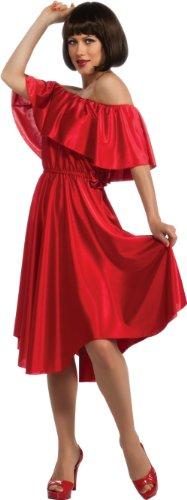 Rubie's Women's Saturday Night Fever Dress, Red, Standard