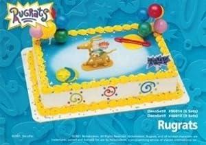 Amazoncom Rugrats Kids Cake Topper Cupcake Decoration Kit Party