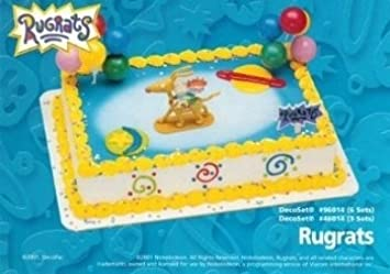 Amazoncom Rugrats Kids Cake Topper Cupcake Decoration Kit Party