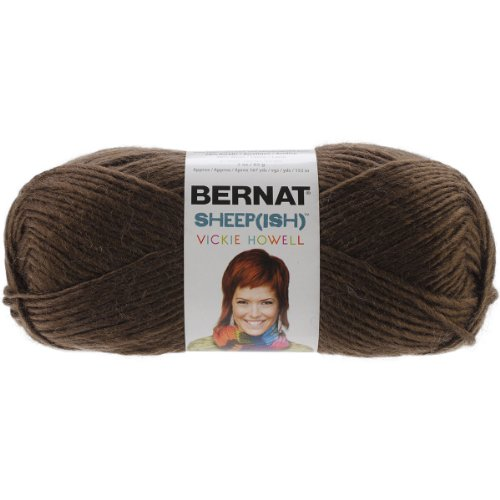 (Spinrite Vickie Howell Sheep-ish Yarn, Espresso-ish)