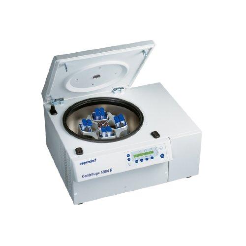 Eppendorf 022628153 Model 5804R Refrigerated Centrifuge with A-4-44 4 x 250ml Rectangular-Bucket Rotor, 15/50ml Adaptor, 120V