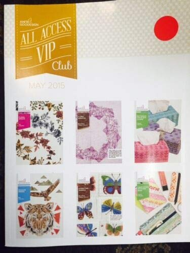 Anita Goodesign Embroidery Designs CD & Book All Access VIP Club May 2015 by Embroidex