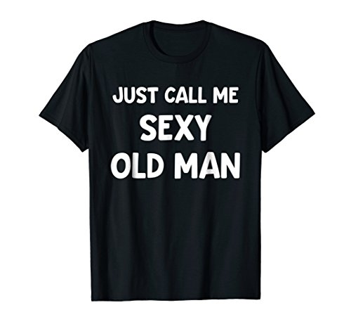 Funny Halloween Costume T-Shirt Sexy Old Man Couple DIY