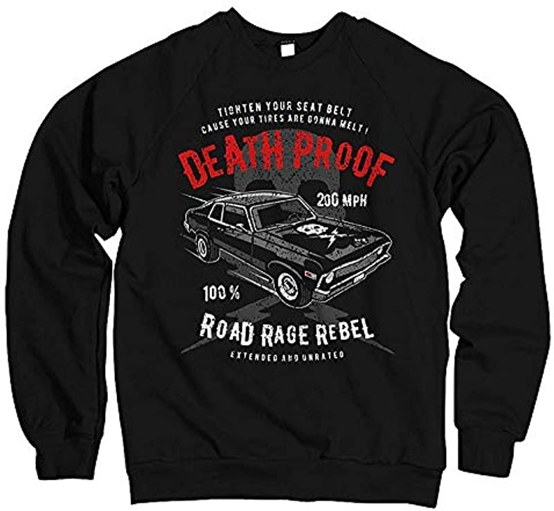 Męski sweter z kapturem Death Proof 200 MPH Hot Rod: Odzież