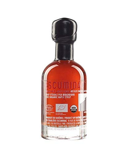 Award Winning Escuminac Canadian Maple Syrup - Gift Bundle - Valentines Day - Grade A - Extra Rare, Great Harvest and Late Harvest - Pure Organic Unblended Single Forest - 3 X 1.7 fl oz (50 ml) by Escuminac (Image #6)
