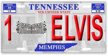Elvis License Plate 1Elvis ()