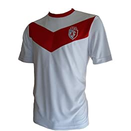 Maillot Supporter LOSC - Collection Officielle - Lille Olympique Metropole - Football Club Ligue 1 - Taille Adulte