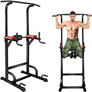 BangTongLi-Power-Tower-Workout-Pull-Up-Dip-Station-Adjustable-Multi-Function-Home-Gym-Fitness-Equipment