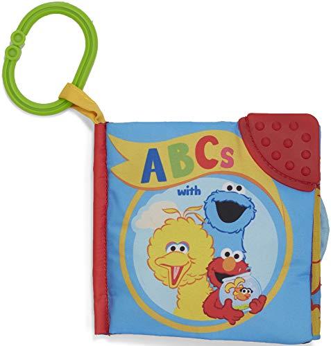Sesame Street On The Go Abc's Soft Teether Book, 5 -