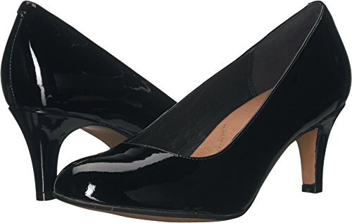 CLARKS Women's Heavenly Heart Black Patent Leather 9 B US (Sport 9 Heart)