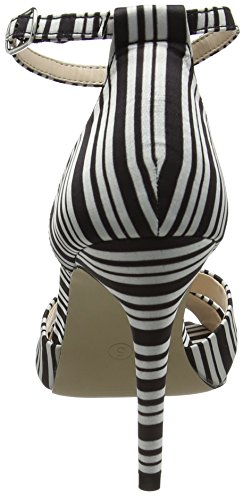 Dorothy Perkins Swoosh High Heel - Sandalias con tacón Mujer Black (Multi Bright)