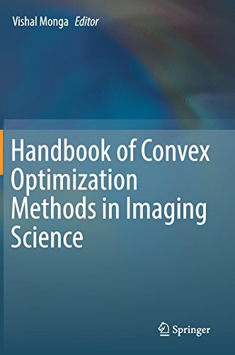 Handbook of Convex Optimization Methods in Imaging Science by Springer
