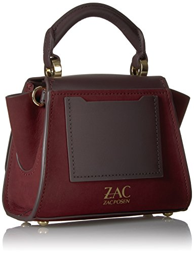Zac Zac Posen Eartha Iconic Soft Top Handle Mini Suede