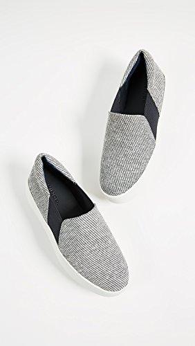 Vince Kvinna Warren Plattform Sneakers Kust / Vit