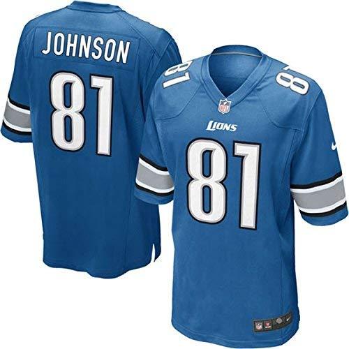 Nike NFL Detroit Lions Calvin Johnson Youth On-Field Jersey Size LG ()