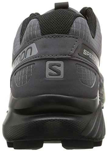 Salomon Men's Speedcross 4 Trail Runner, Dark Cloud, 7.5 M US by Salomon (Image #2)