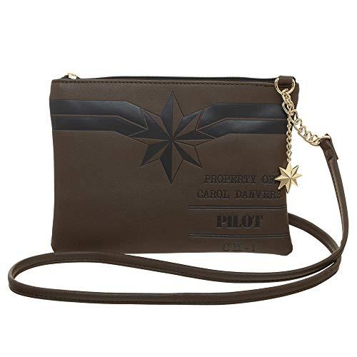 Price comparison product image Marvel Captain Marvel Carol Danvers Crossbody Purse Bag
