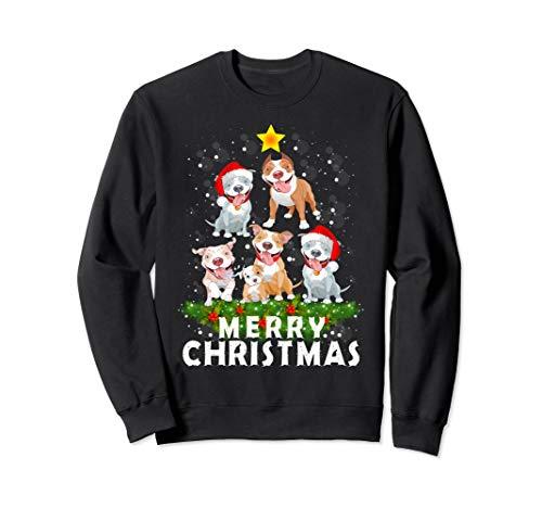 Top 10 pitbull ugly christmas sweater