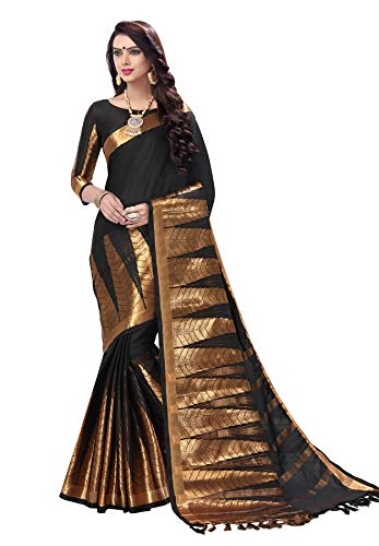 Cotton Blouse Piece Muhenera Women's Saree Silk With gwwqP5A