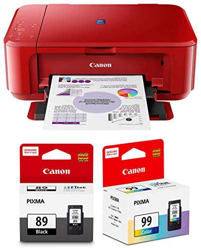 Canon E560 All in One Inkjet Colour Printer with PG89   CL99 Ink Cartridge