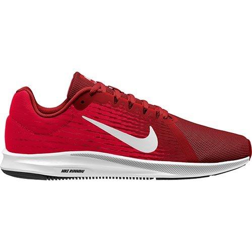 Nike Herren Downshifter 8 Laufschuhe, Rot (Gym Red/Vast Grey-Bright Crimson-Black 601)