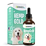Fur Goodness Sake Hemp Oil for Dogs - Organic Remedy for Dog Anxiety Relief, Cat Calming and Joint Pain Relief - Grown in USA, Third Party Tested, Hemp Oil for Dogs & Cats