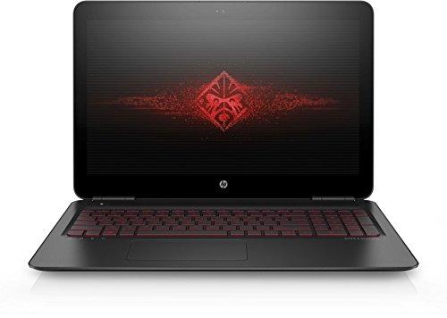 OMEN by HP (17-w109ng) 43,9 cm (17,3 Zoll / FHD IPS UWVA) Gaming Notebook (Intel Core i7-6700HQ), 16 GB RAM, 128 GB SSD, 1 TB HDD, NVIDIA GeForce GTX 1070, Windows 10) schwarz