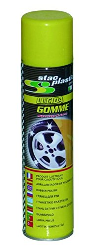 LUCIDA GOMME 400ML LUCIDA E PROTEGGE GOMME AUTO STAC PLASTIC SPRAY SRL