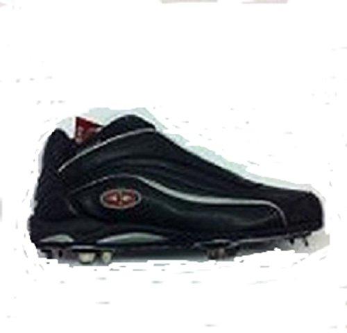 - Easton Thunder Mid Metal Baseball Cleats, Men's Black 9