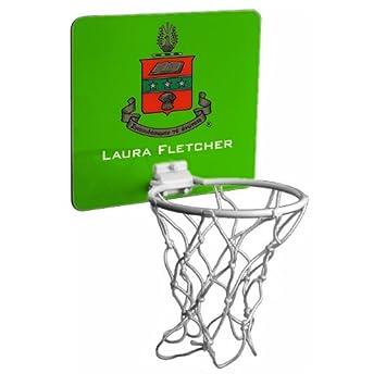 Amazon.com: Alpha Chi Omega Mini canasta de baloncesto ...