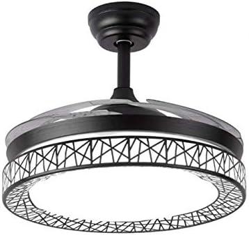 Nikecaco 42'' Retractable Ceiling Fan Modern Chandelier