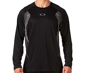 Oakley Men's Chop Chop Long Sleeve Shirt Jet Black Size Large