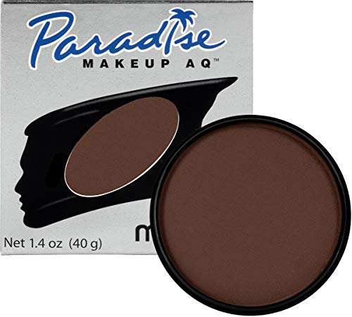 Mehron Makeup Paradise Makeup AQ Face & Body Paint (1.4 oz) (Dark -