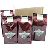 Vanilla Nut Crème Mountain Water Decaffeinated Coffee, Ground (Case of Four 12 ounce Valve Bags)