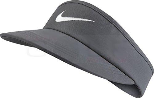 a89cda6b Galleon - Nike Golf AeroBill Tall Golf Visor 832693 Mens (Dark Grey)