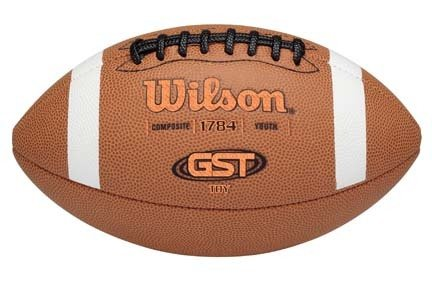 Wilson Tdy Composite Football - Youth GST™ Composite TDY™ Football from Wilson