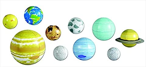 Learning Resources 077015 2434 Inflatable Solar System Set - Earth Moon System
