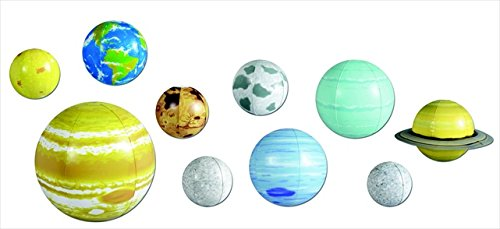 Learning Resources 077015 2434 Inflatable Solar System Set