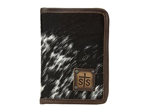 STS Ranchwear Women's Magnetic Wallet/Travel/Passport Case Cowhide One Size by STS Ranchwear