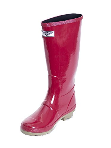 Forever Forever Young Green Boot Red Stripe Wellie Young Rain Womens 4UqCqw