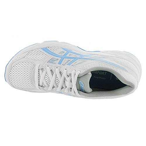 Gel White ASICS Contend Running Shoe 4 Women's Bluebell 5gw4SwqPx