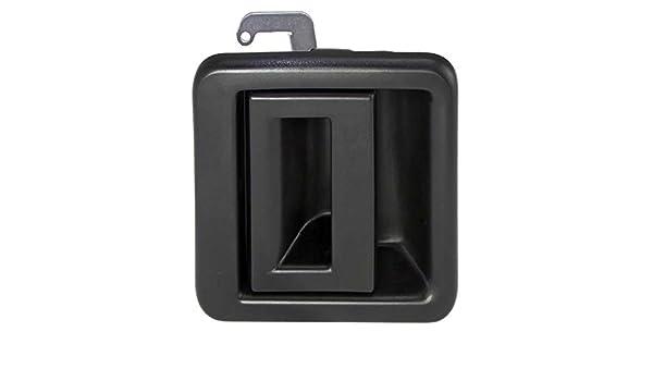Tiradores Puerta Exterior de plástico negro lateral corredera ...