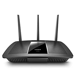 Linksys EA7500-RM2 AC1900 (Max Stream EA7500) Dual Band Wireless Router, Compatible with Alexa (Renewed), Black 13 Power your streaming and gaming with next Gen AC Wi-Fi, which utilizes multi-user MIMO technology to keep multiple Wi-Fi devices online at the same time and the same speed Enjoy your favorite online games and streaming content without buffering or lag via Dual-Band speeds up to 1.9 Gaps Connect 4K TV, gaming console, laptop and more with four Gigabit Ethernet ports for wired transfer speeds 10x faster than fast Ethernet