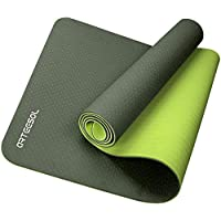 Yoga Mat, arteesol Eco Friendly TPE Workout Mat, Non Slip Pilates Mat with Carrying Strap, Fitness Exercise Mat for Yoga…