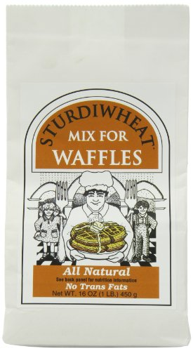 Sturdiwheat All Natural Waffle Mix, Original, 16-Ounce Package (Pack of 4)