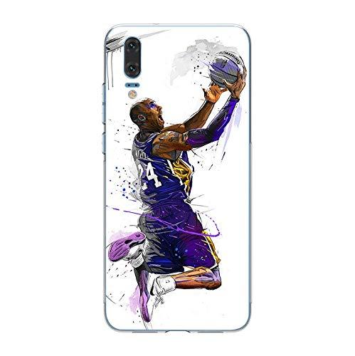 1 piece ciciber Basketball Kobe Curry Jordan For Huawei P20 P10 P9 P8 Pro  Plus Lite 2017 Soft TPU Silicone Clear Phone Cases Fundas Capa