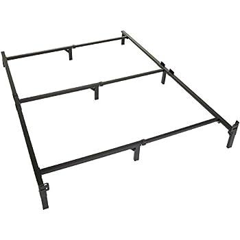 Amazon Com Zinus Michelle Compack Adjustable Steel Bed