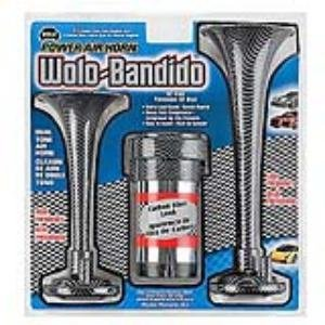 (Wolo (404) Bandido Power Air Horn - 12 Volt)