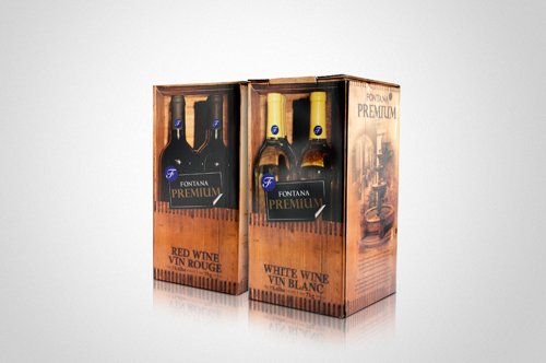 (Shiraz Fontana Wine Making Kit, 30 bottles (750ml/each))